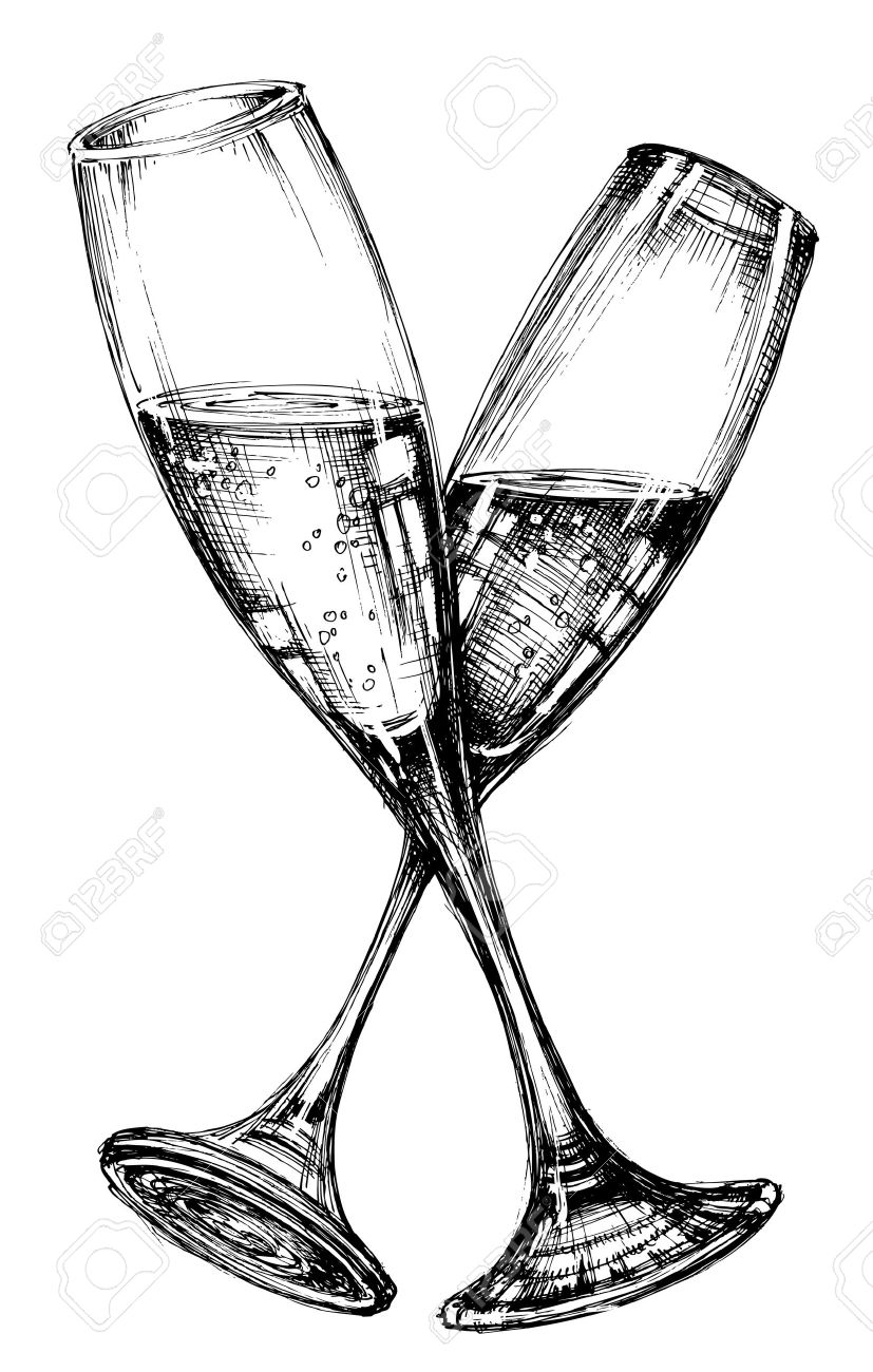 Glass of champagne - 51327265