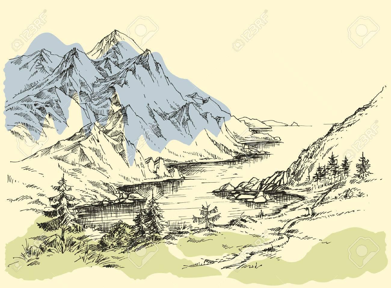 Mountain river - 58689974