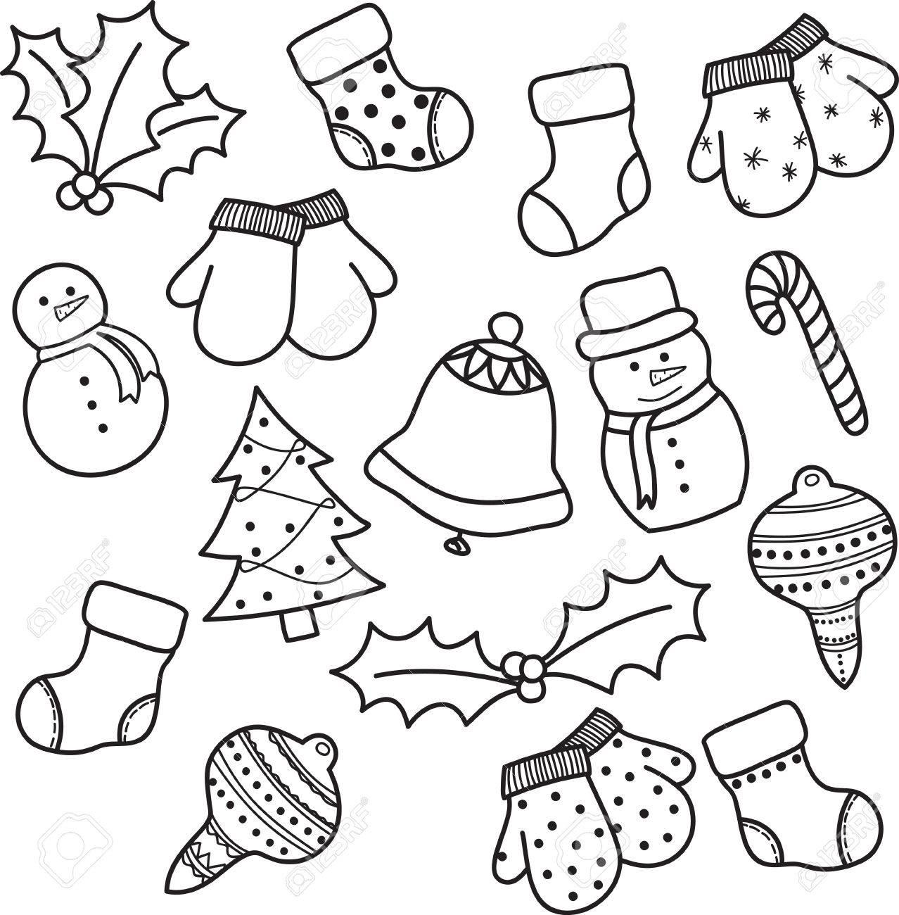 La navidad en dibujo