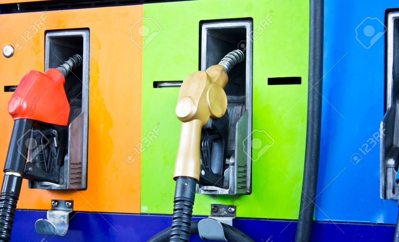 gas station pumps Stock Photo - 16003961