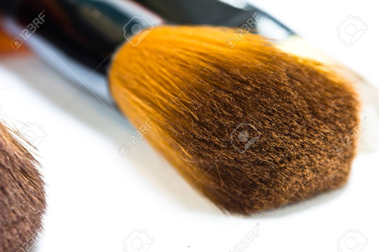 Make-up collage on white background Stock Photo - 22173971