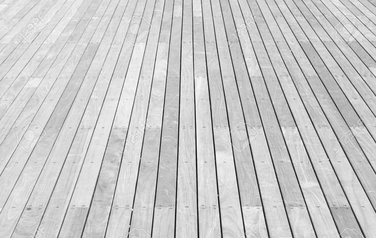 outdoor white wood floor texture and background stock photo 38346475