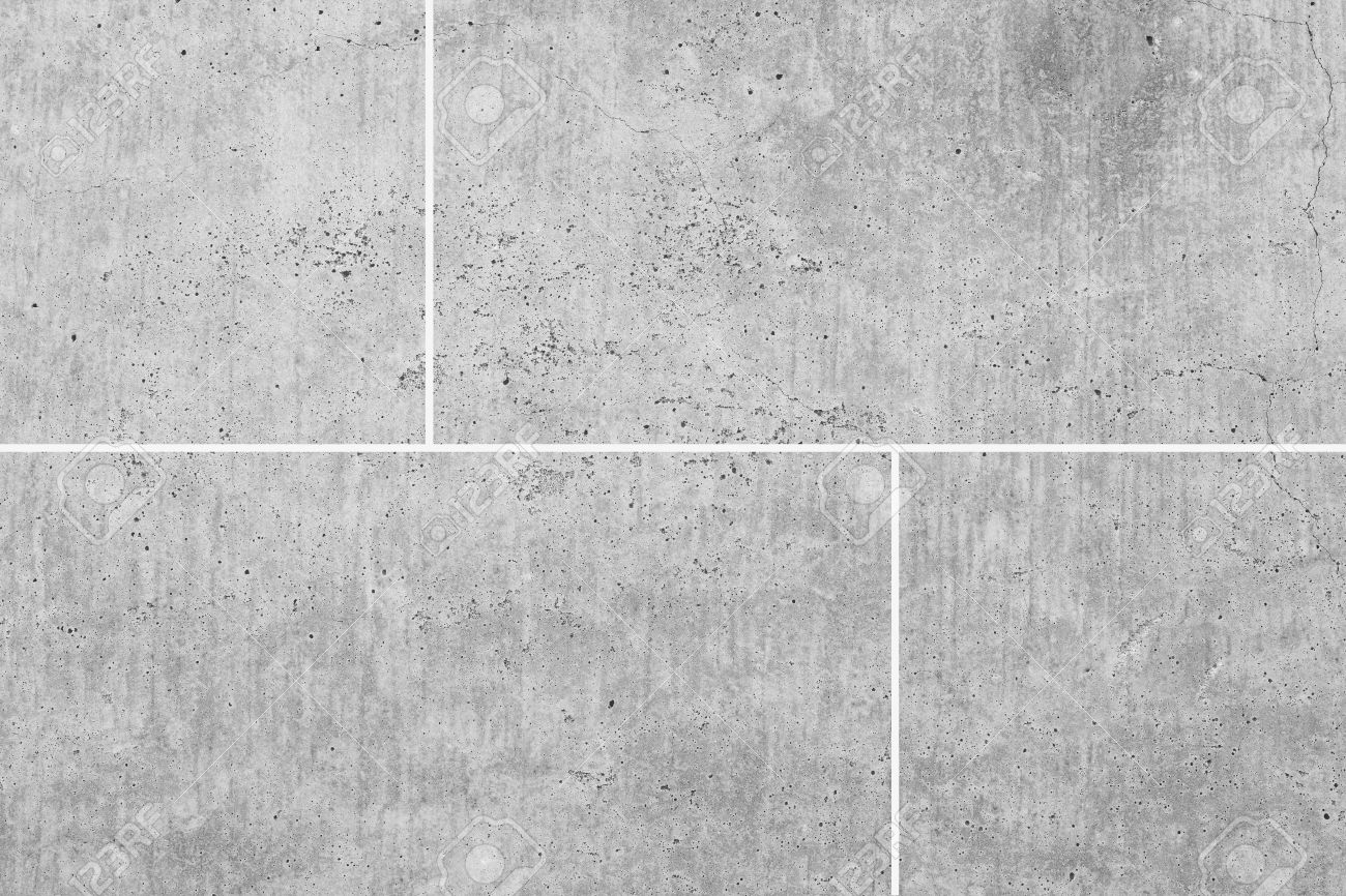 White stone floor texture and seamless background - 47560964