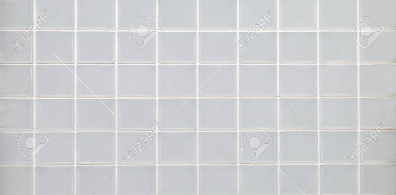 Weiße Wand Aus Glasbausteinen Nahtlose Backgroun Und Textur ...