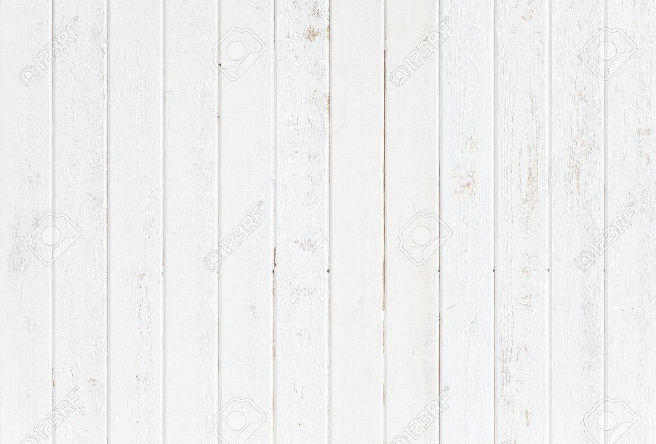 Stock Photo   White Natural Wood Wall Texture And Background Seamless