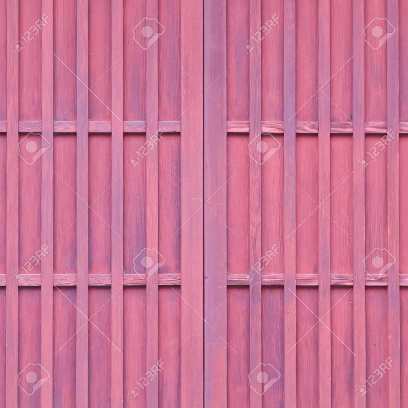 Detail Des Japanischen Hauses Holz Schiebetur Lizenzfreie Fotos