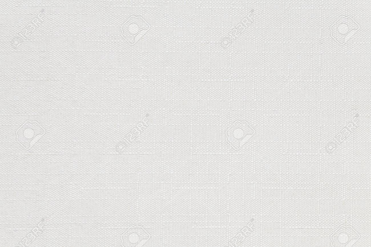 White cotton fabric texture and background seamless - 51997278