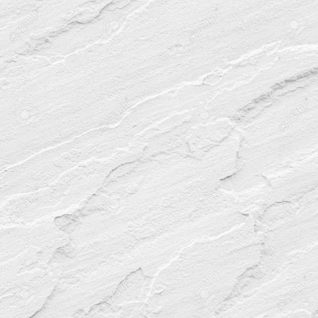 Texture And Seamless Background Of White Granite Stone Stock Photo