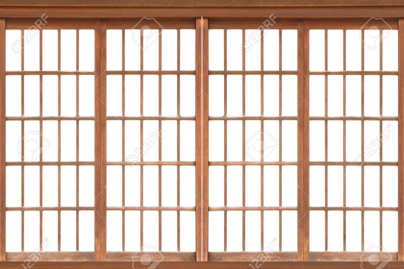 Shoji  Traditional Japanese doorwindow or room ider consisting Stock Photo - 54889331  sc 1 st  123RF.com : japanese door - Pezcame.Com