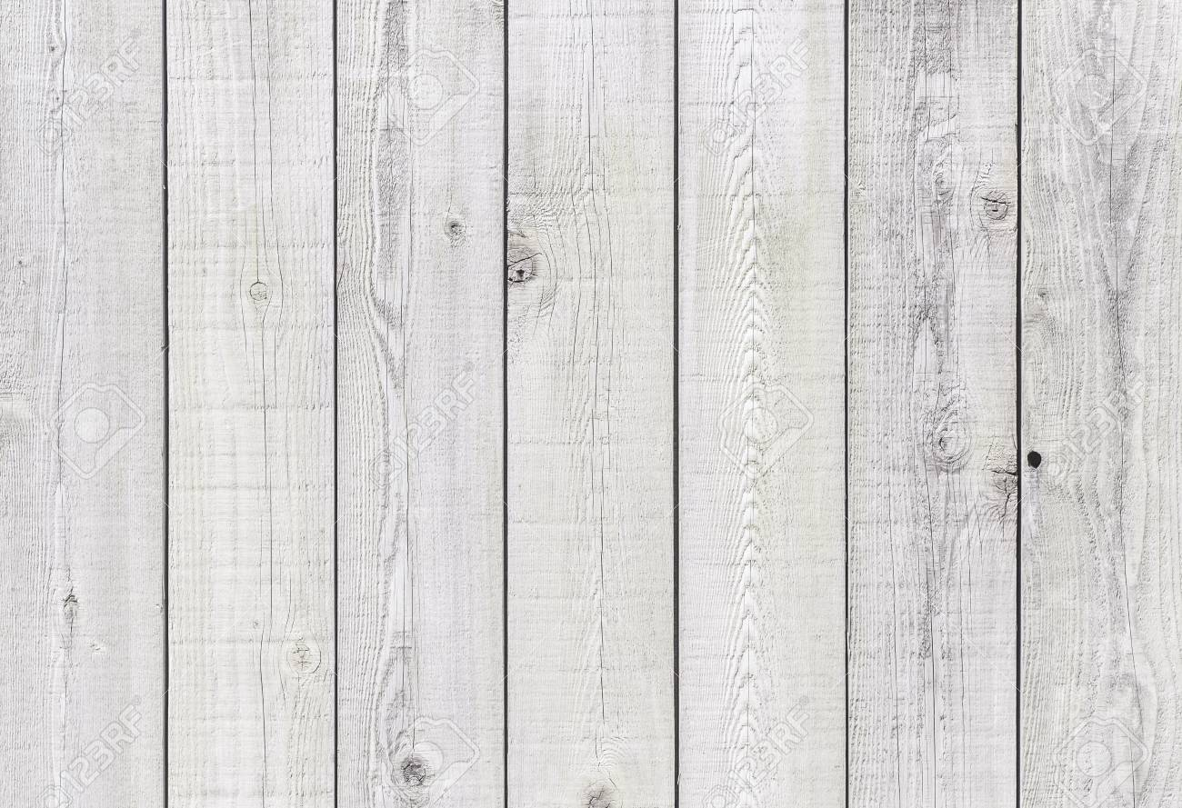 Stock Photo   White Wood Fence Texture And Background Seamless