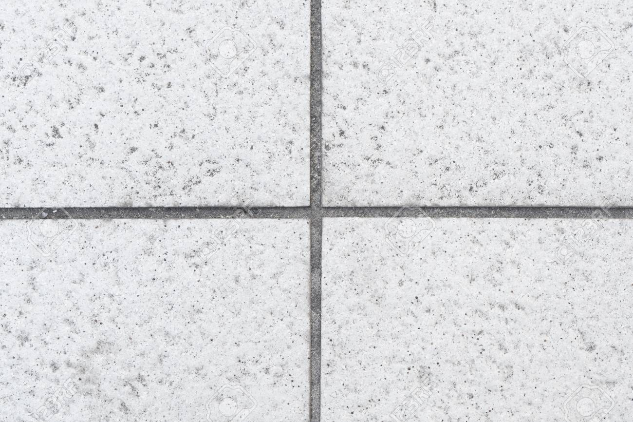 Outdoor Stone Block Tile Floor Background And Texture Pattern Stock Photo