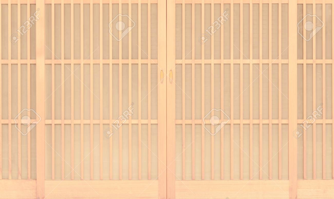 Shoji Traditonal Japanese Door Window Or Room Divider Consisting