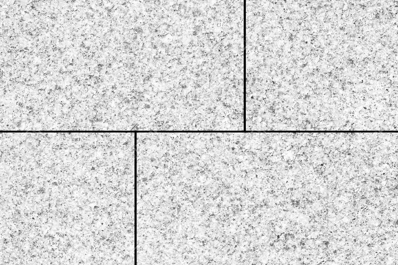 White terrazzo tile floor texture and background