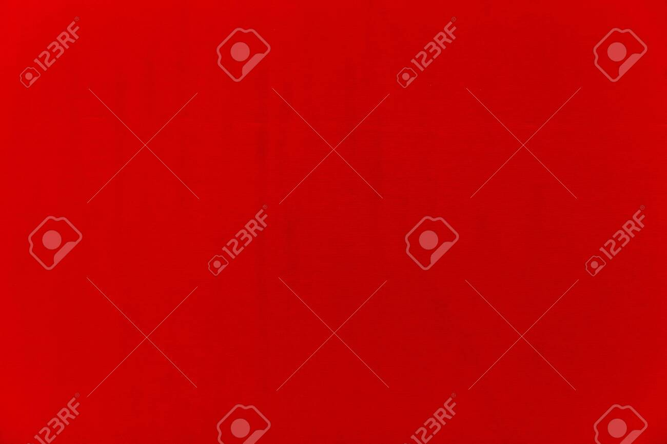 Red Fabric background, Red Fabric texture.Fabric backdrop, Cloth knitted, cotton, wool background. - 151690768