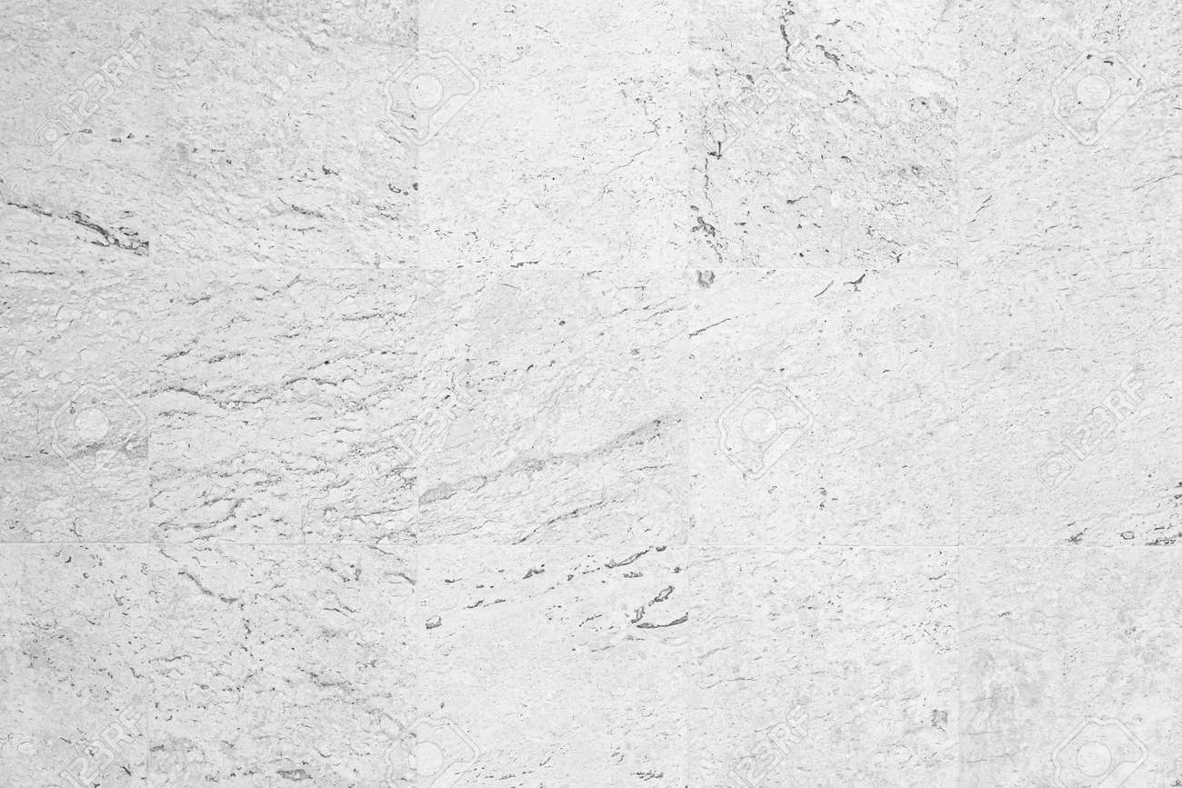 White marble tile floor texture and bckground seamless - 168062619