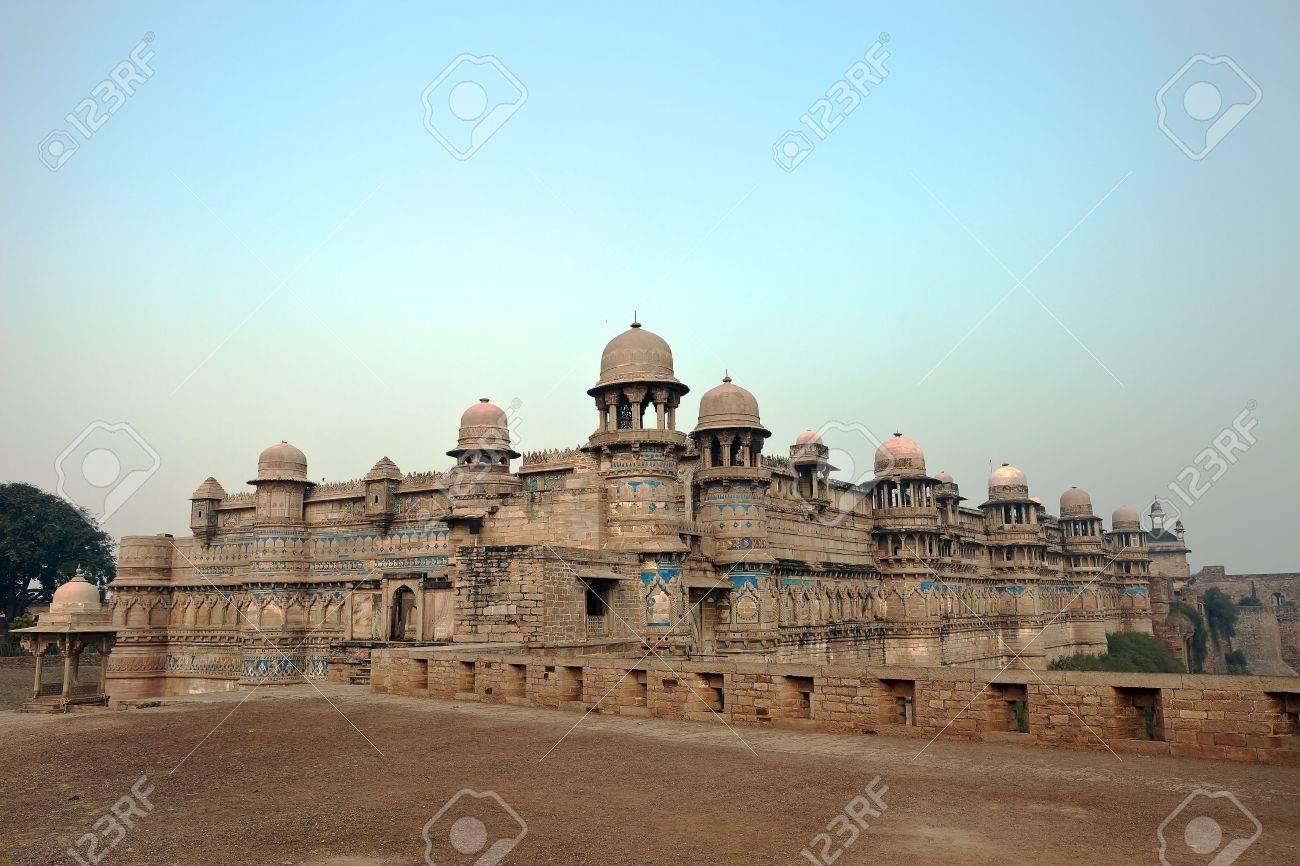 Gwâlior Fort Inde Banque Dimages Et Photos Libres De Droits