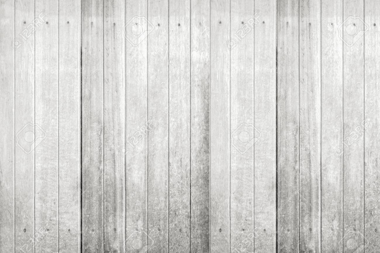 white wood panel background and texture with space stock photo