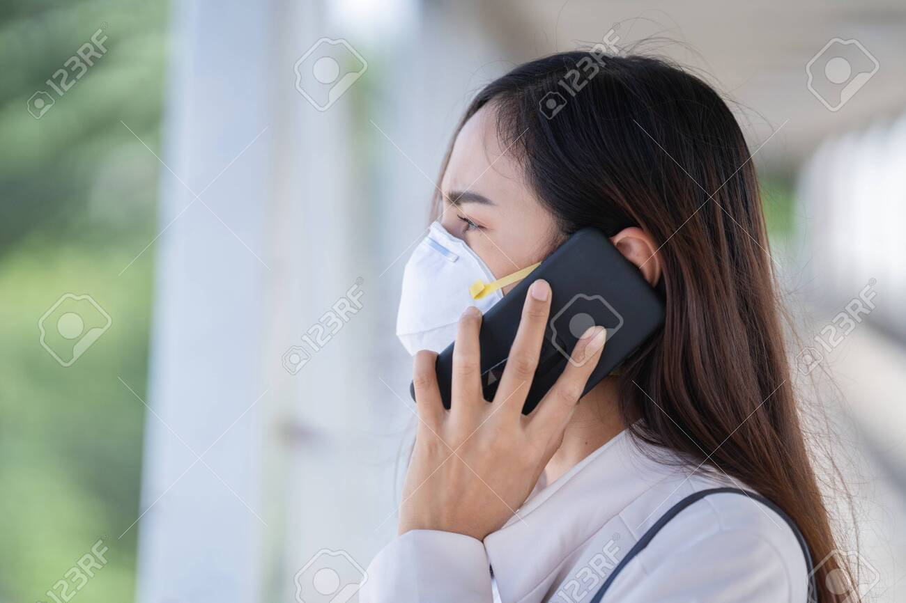 To Are Woman prevent 5 N95 Asian Work Pm2 Wears Mask Dust she