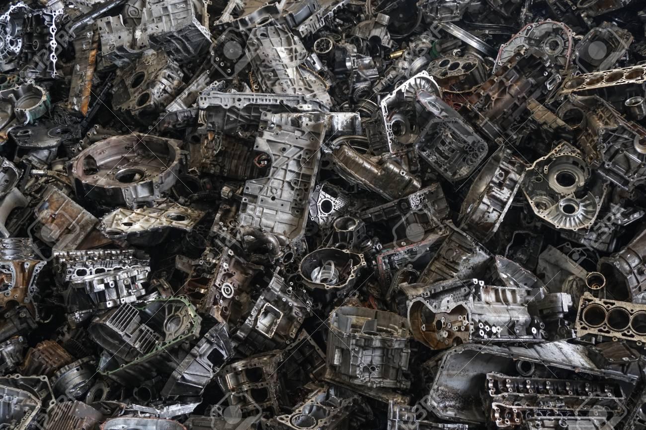 Cracked Engine Block >> Engine Junkyard Cracked Engine Block Aluminum For Recycle