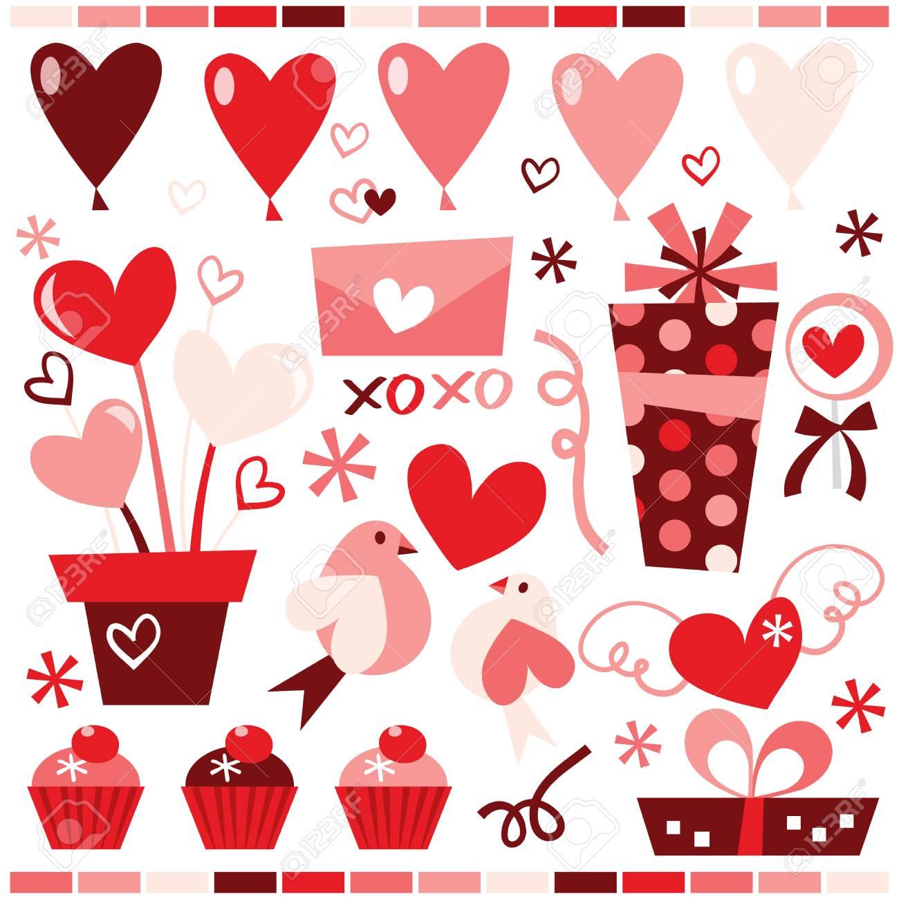 イラスト かわいい バレンタイン
