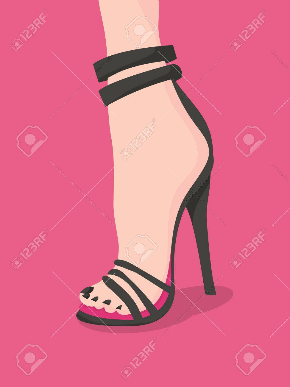 Heels Vector High Illustration Fashion Super Very A Killer srtQhd