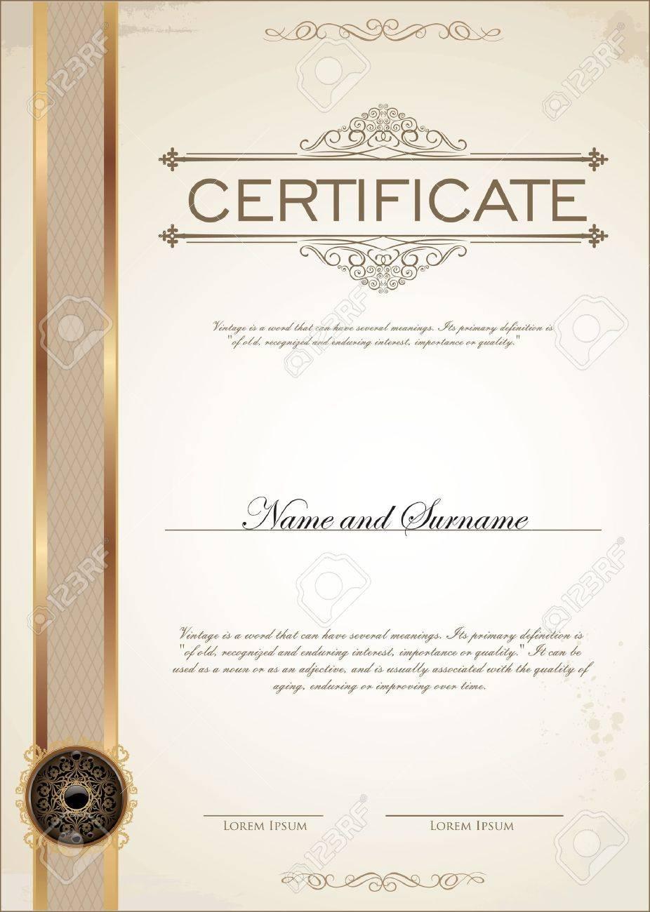 Atemberaubend Zertifikatvorlagen Für Word Galerie - Entry Level ...