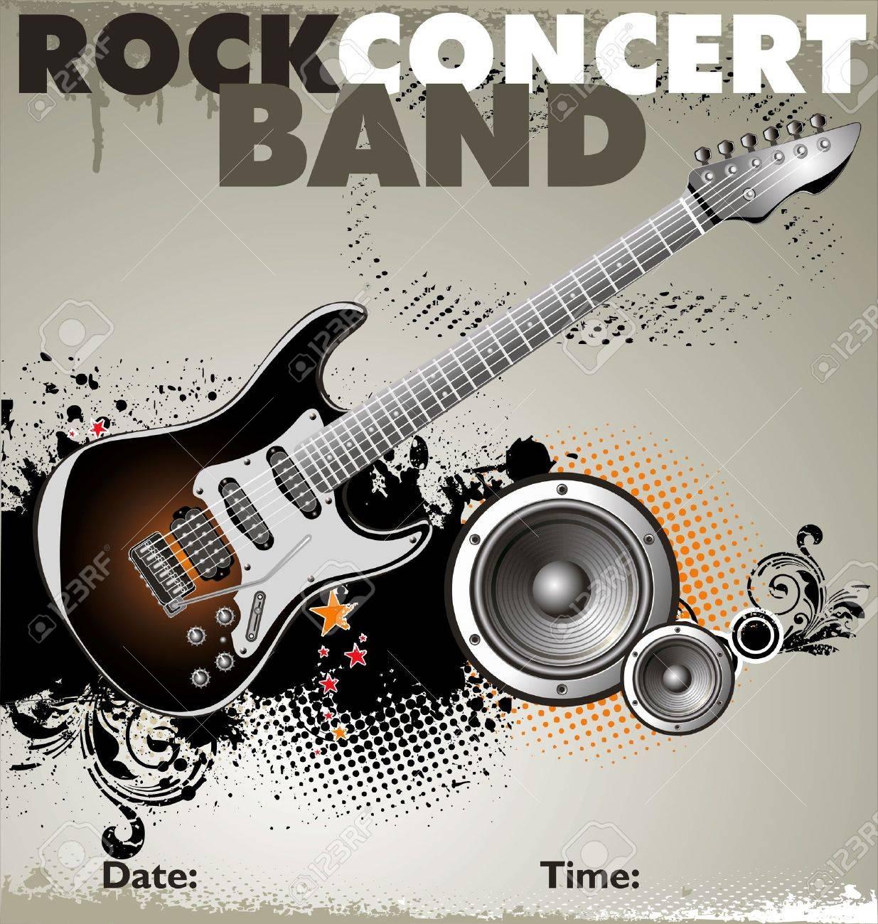 Pics photos rock concert background - Rock Concert Background Stock Vector 19137562