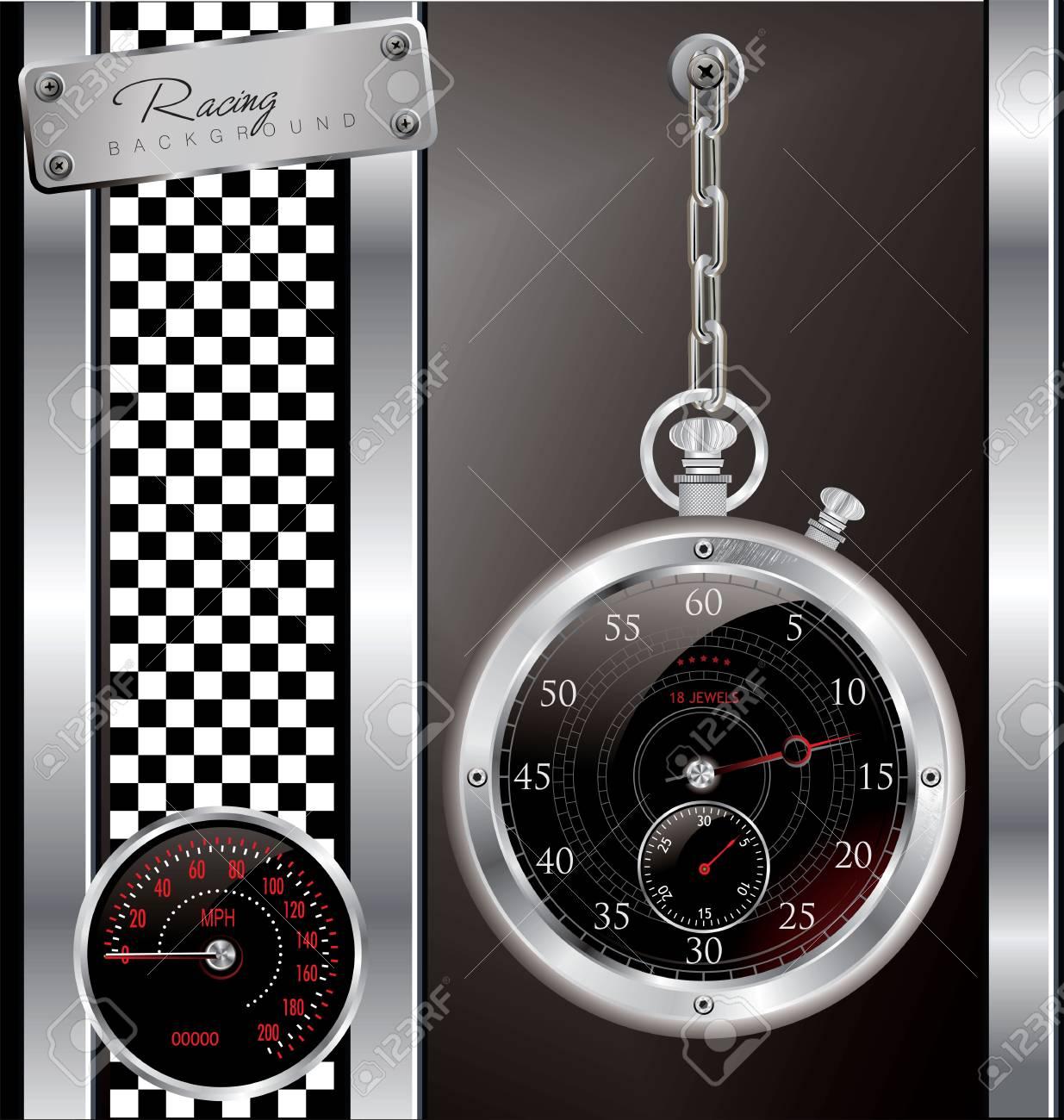 Racing background Stock Vector - 19462731