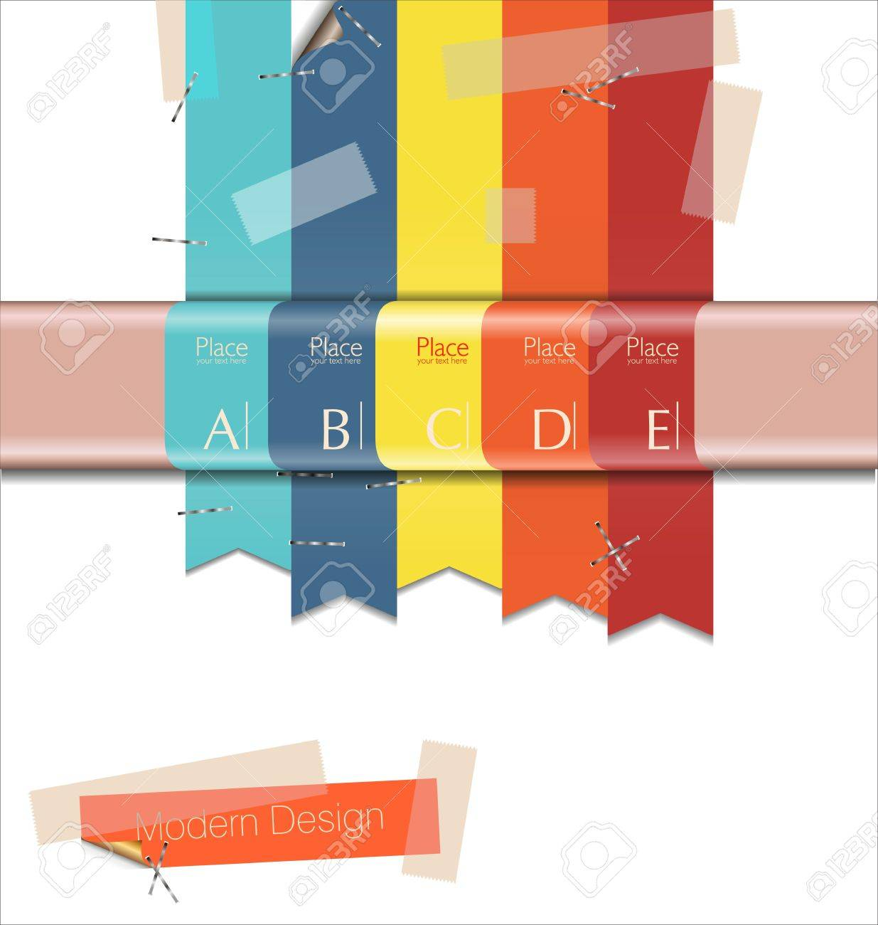 Modern Design template Stock Vector - 19566043