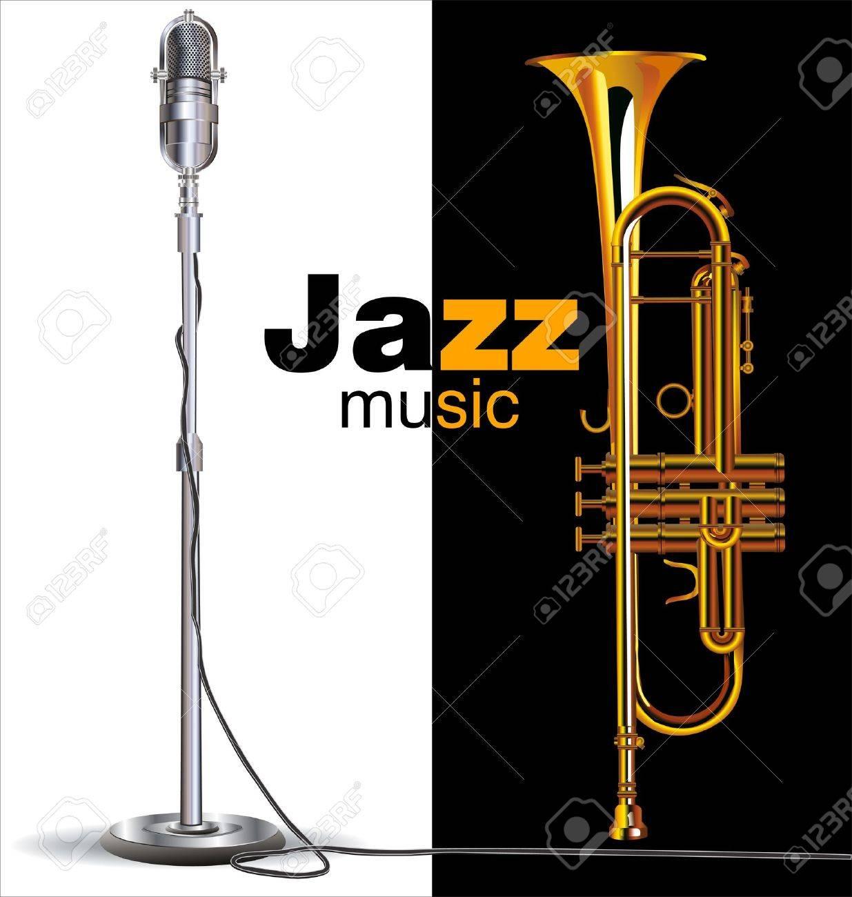 Jazz concert poster - 19566462