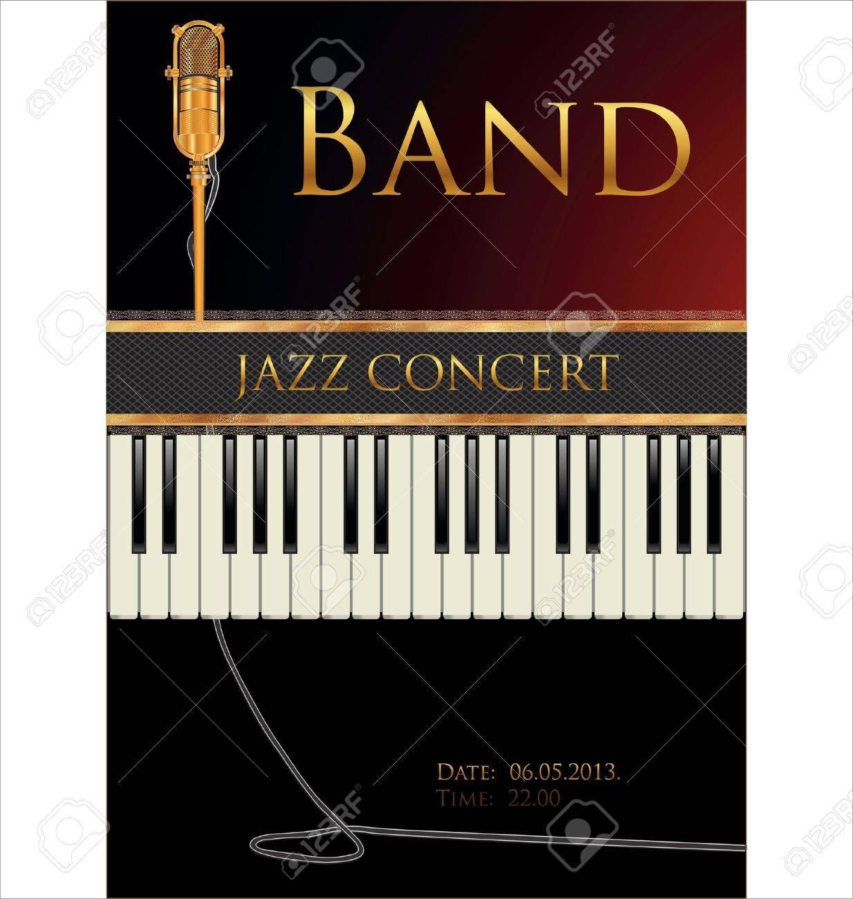 Jazz concert poster - 19566510