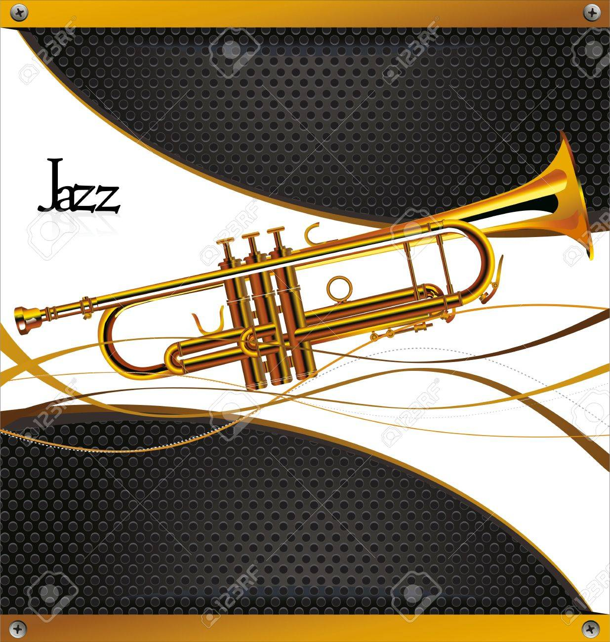 Jazz concert poster Stock Vector - 19566505
