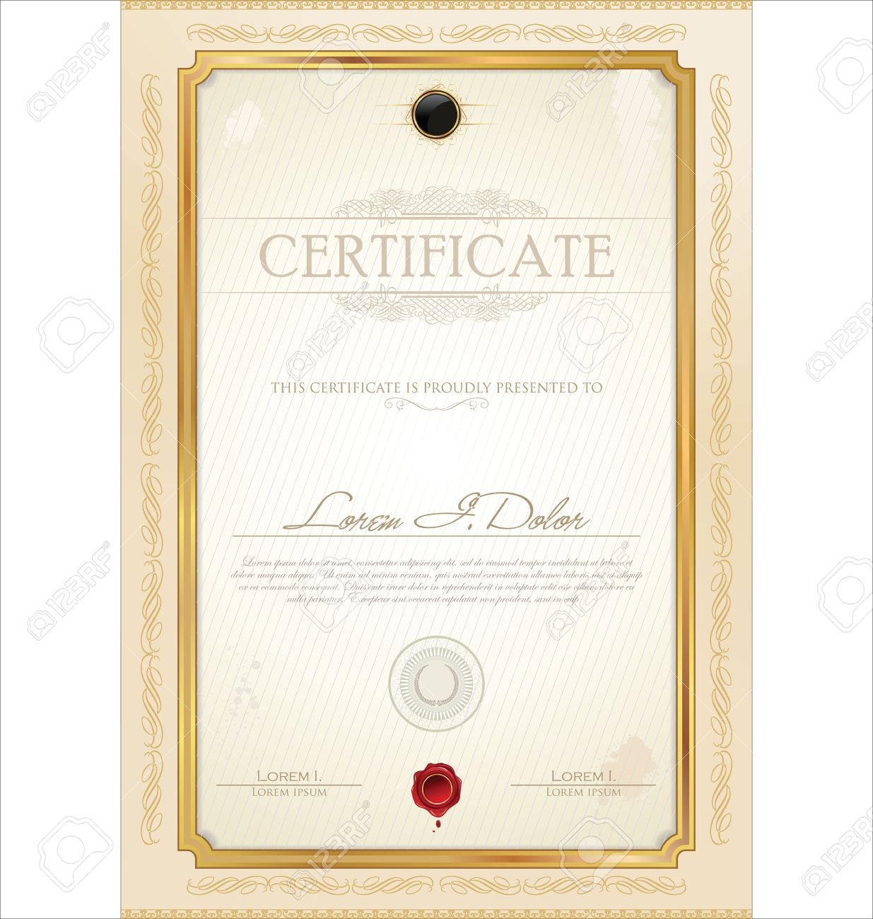 Certificate Border Photos Pictures Royalty Free – Word Certificate Borders