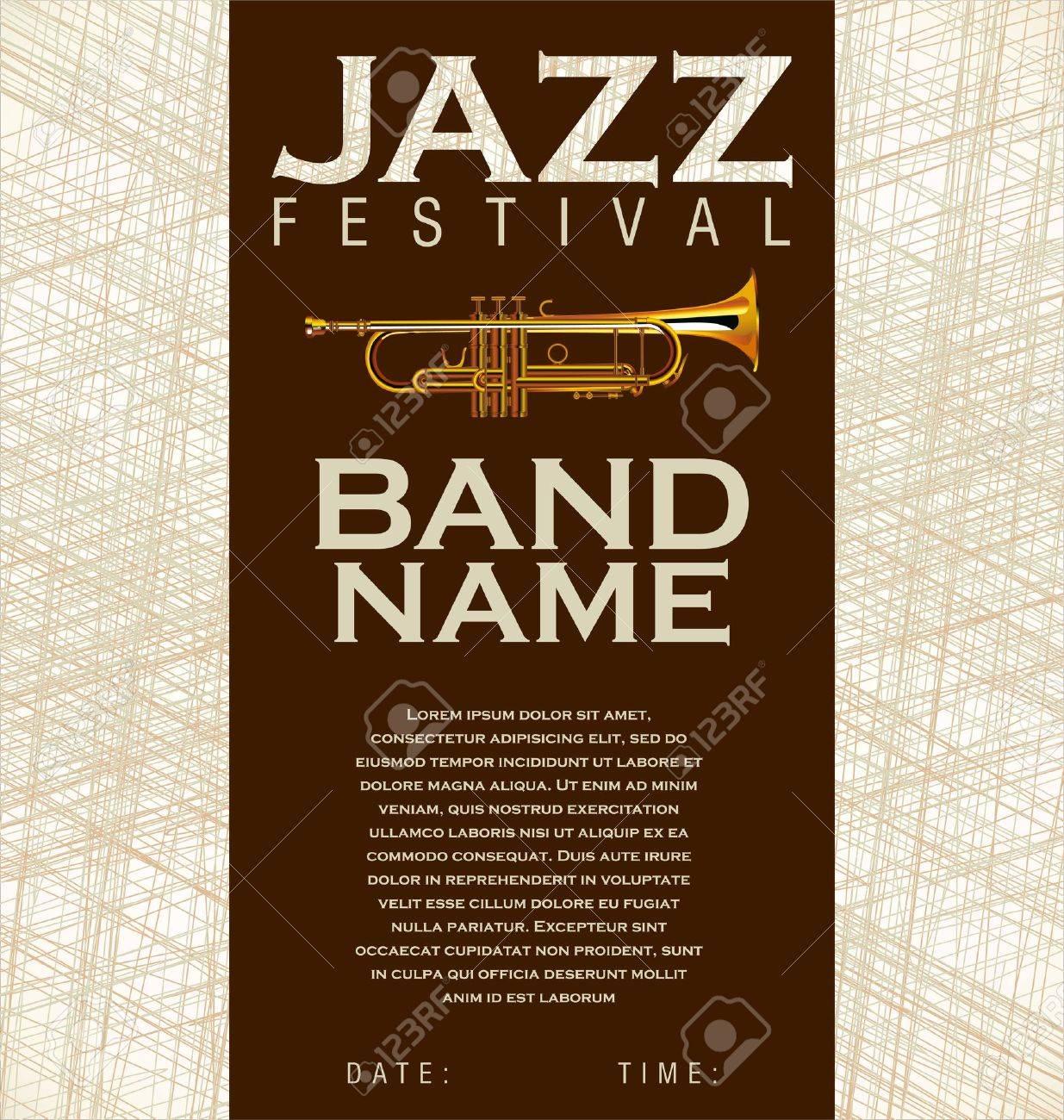 Jazz music background Stock Vector - 20168960