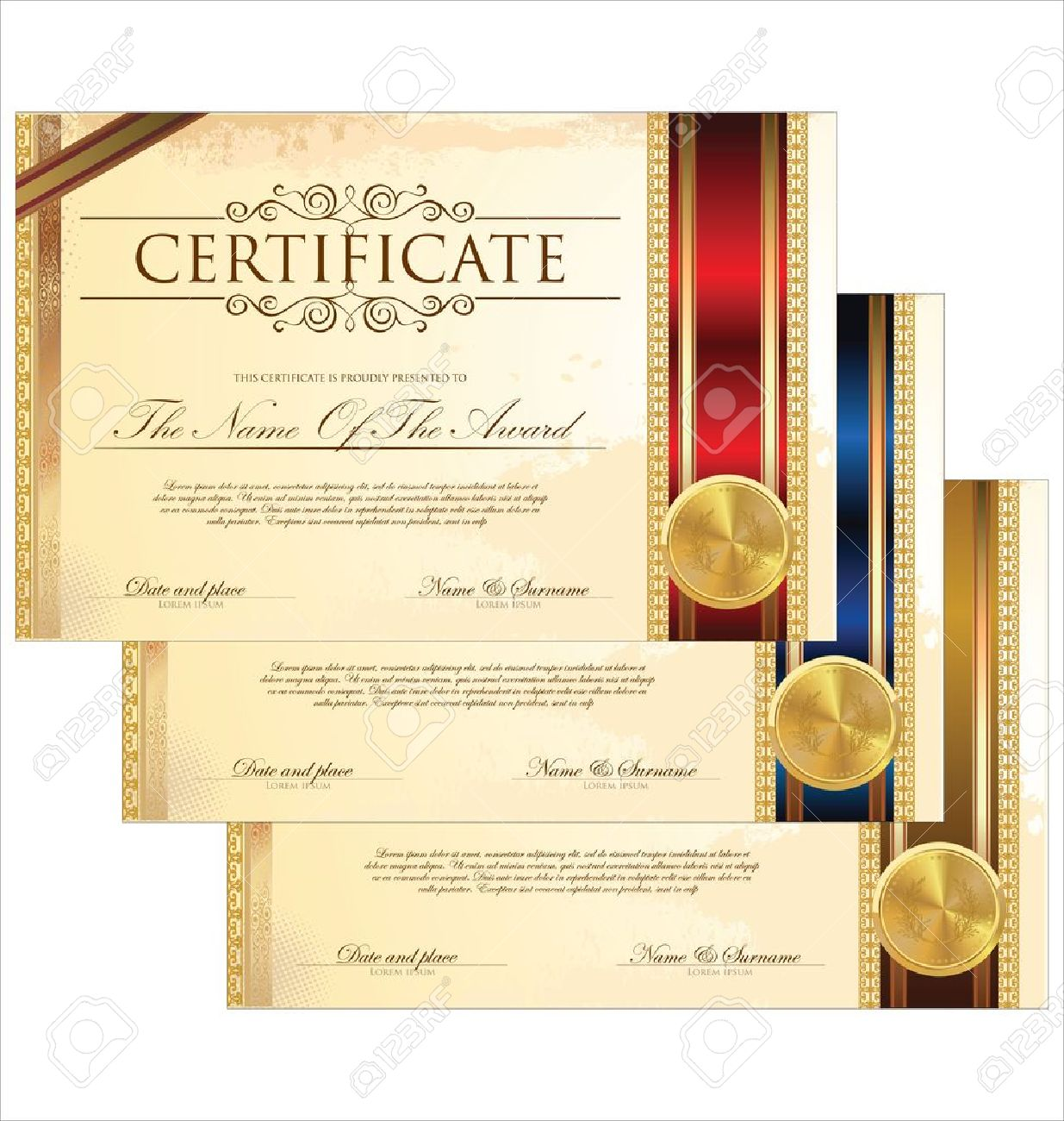 100 award certificate border template award certificate award certificate border template 29 832 award certificate template stock vector illustration and yadclub Image collections