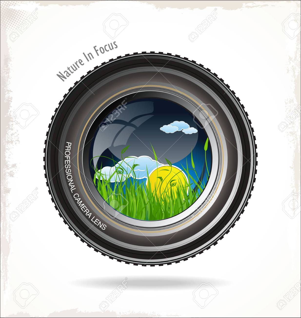 Nature in focus Stock Vector - 22749096