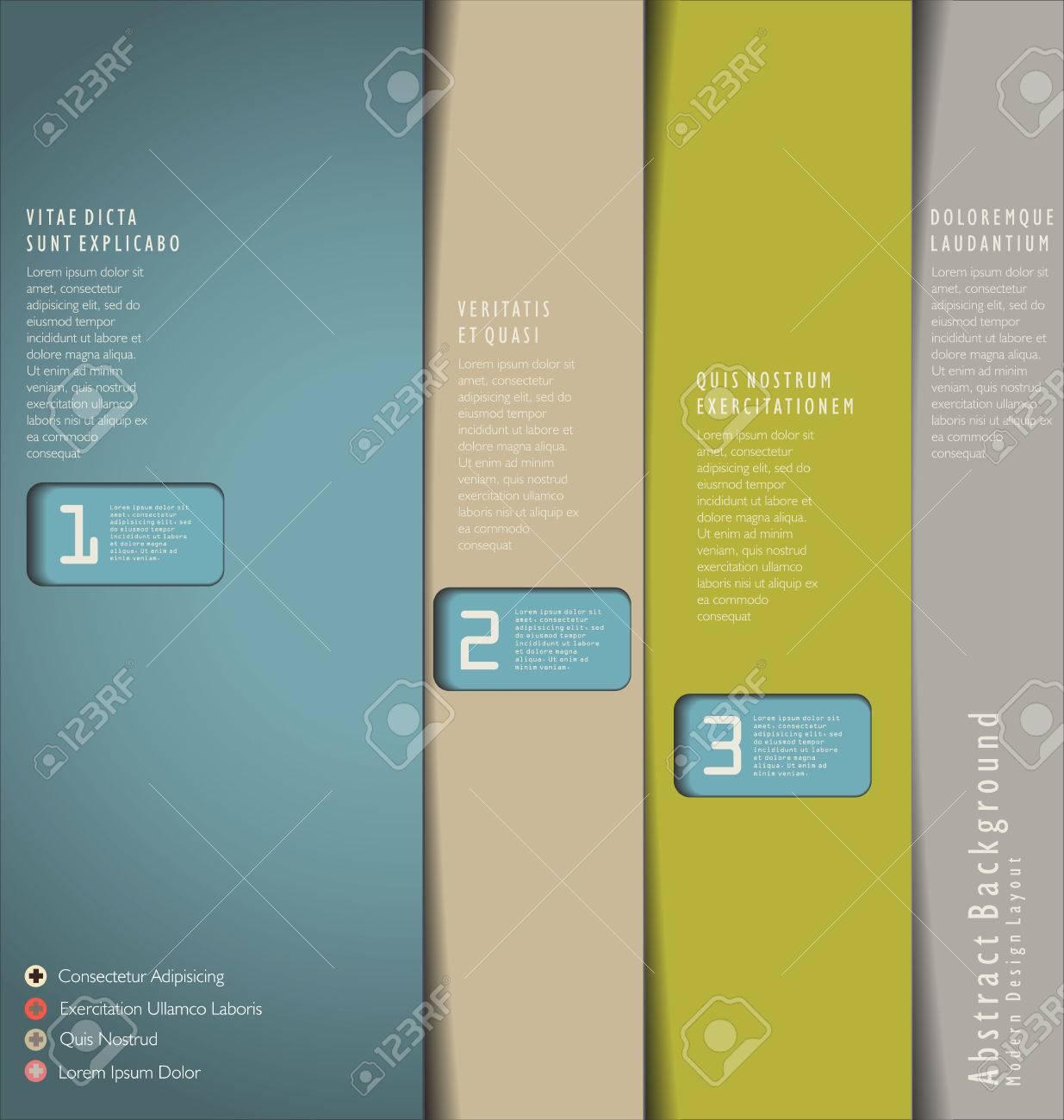 Modern Design template Stock Vector - 22775443