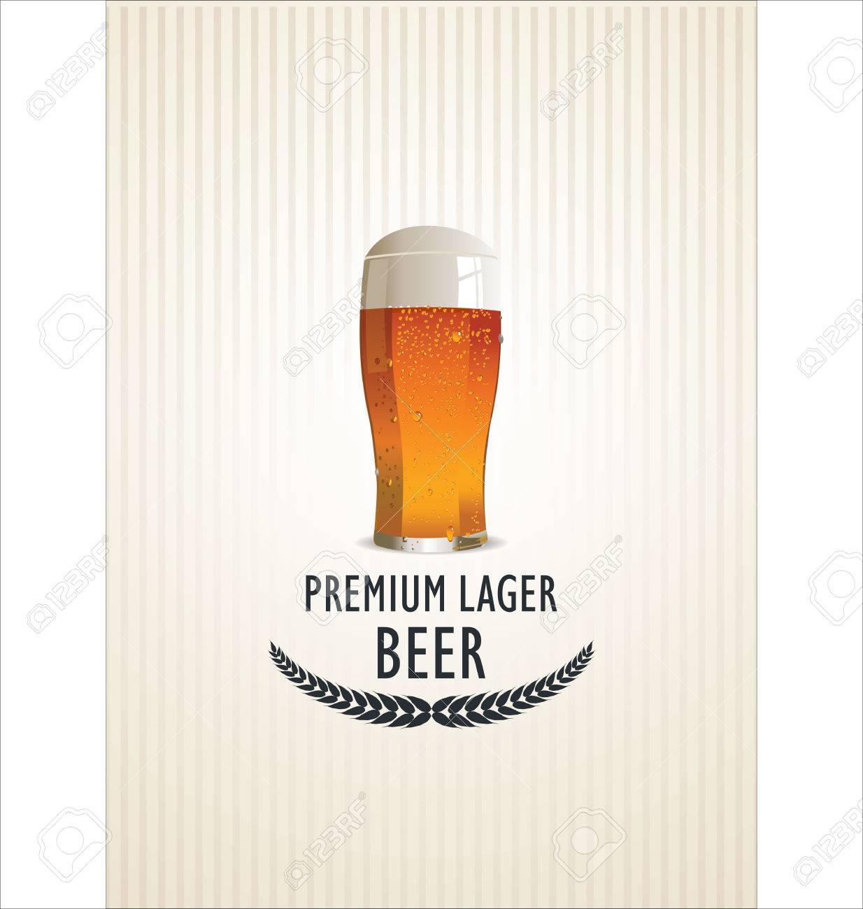 Beer background Stock Vector - 25516462