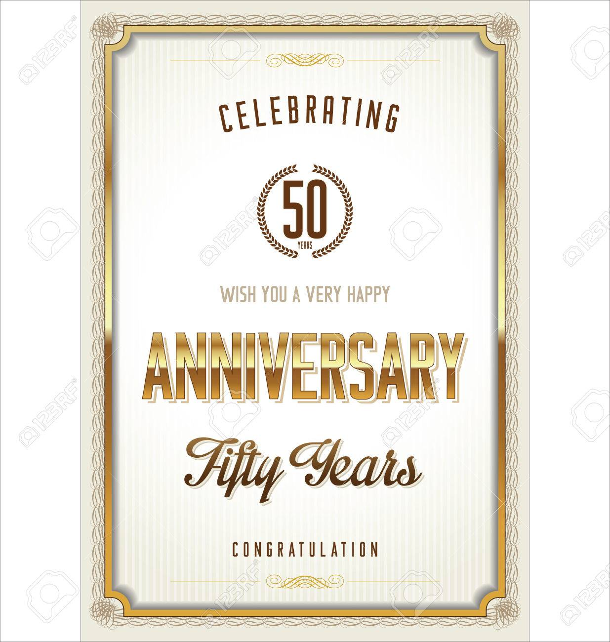 Lovely anniversary certificate template gallery entry level anniversary certificate template royalty free cliparts vectors 1betcityfo Image collections