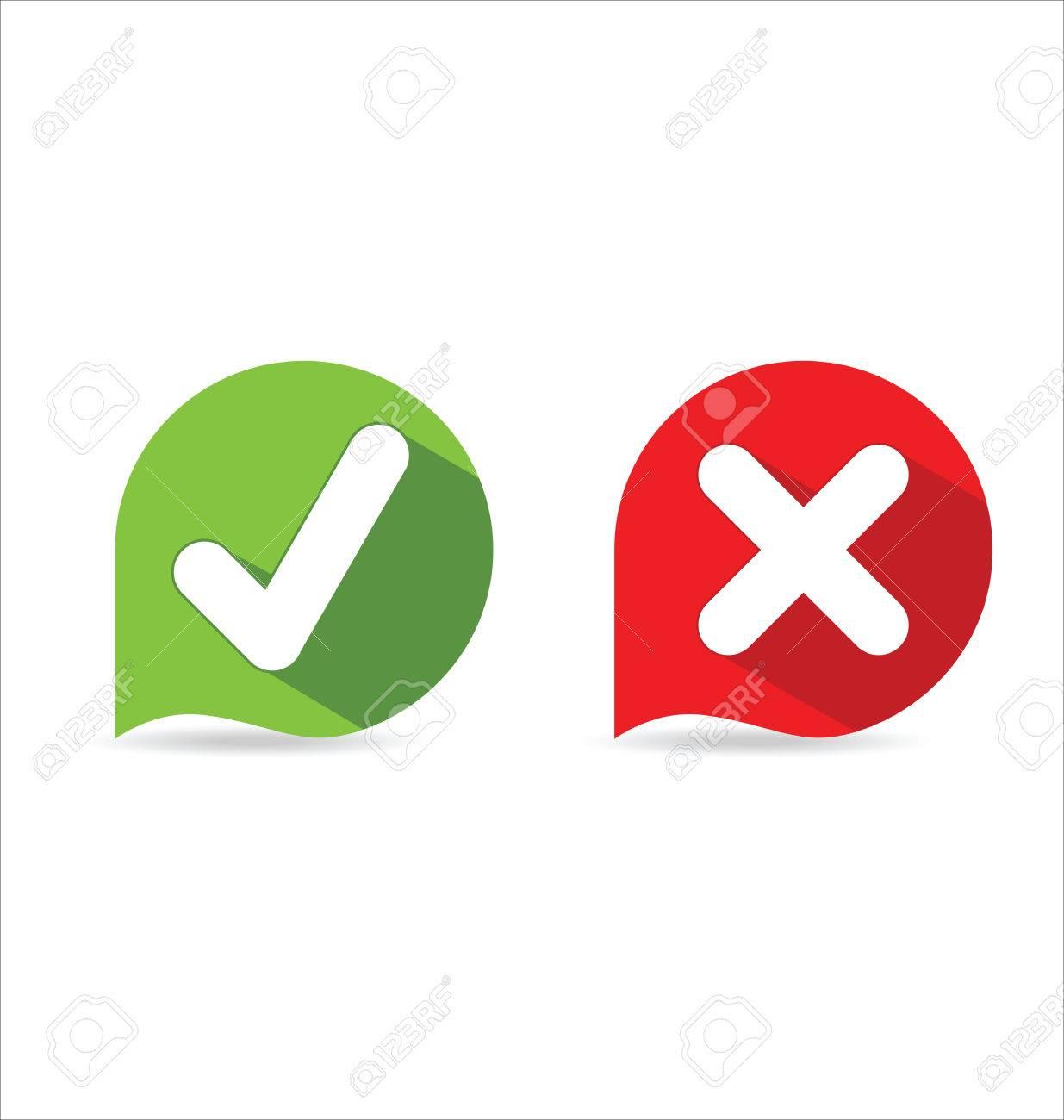Modern Check Mark Icons Royalty Free Cliparts Vectors And Stock