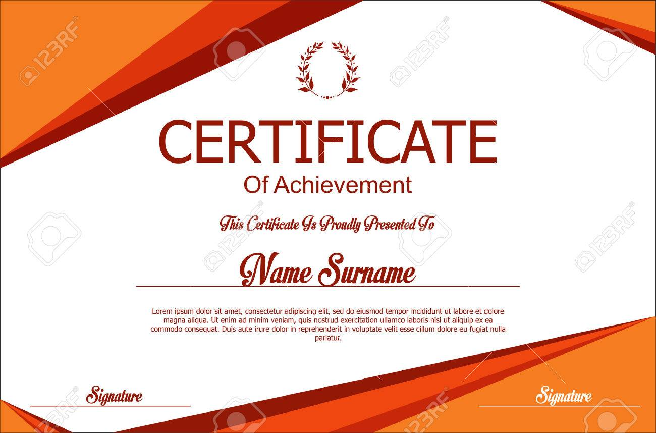 certificate or diploma template royalty free cliparts vectors and