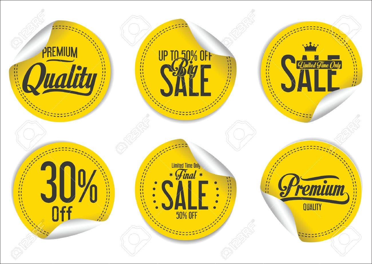Sale Labels collection - 52161778