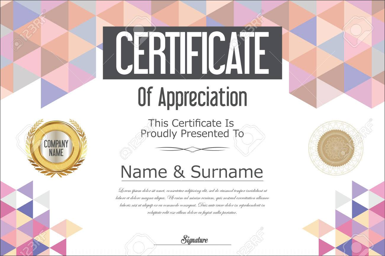 certificate background designs