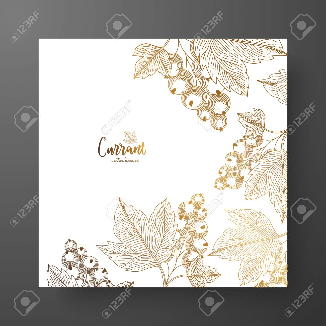 Gold card template for invitations greeting cards postcards gold card template for invitations greeting cards postcards package design or as m4hsunfo