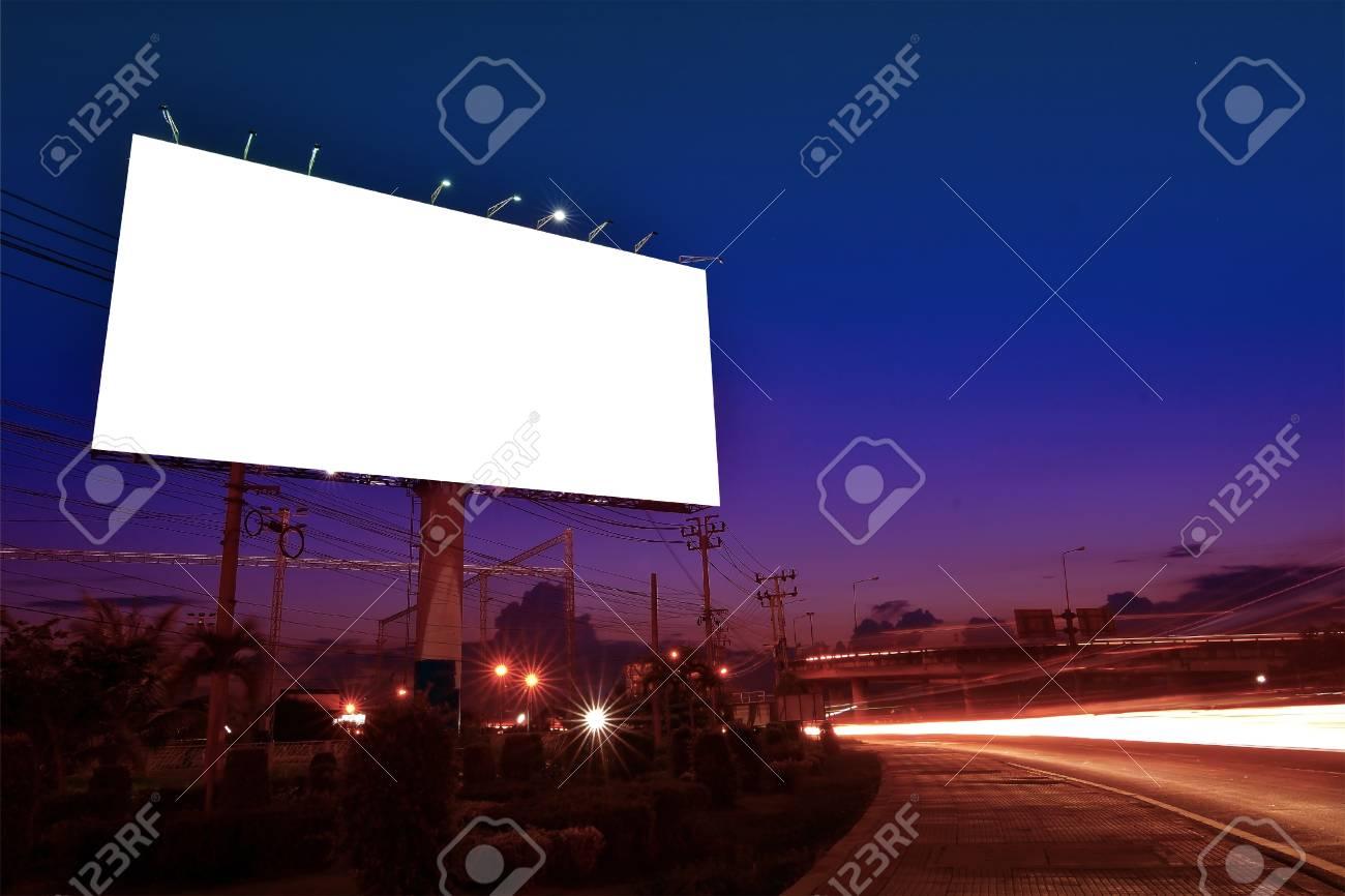 Billboard Blank Outdoor Advertising Poster