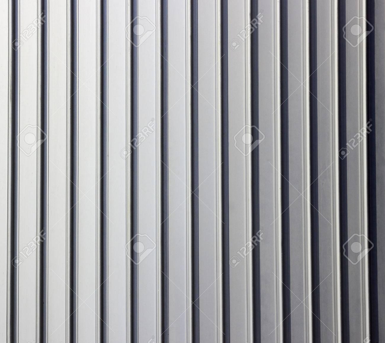 Gris Papier Peint Feuille De Texture Metallique Verticale Banque D