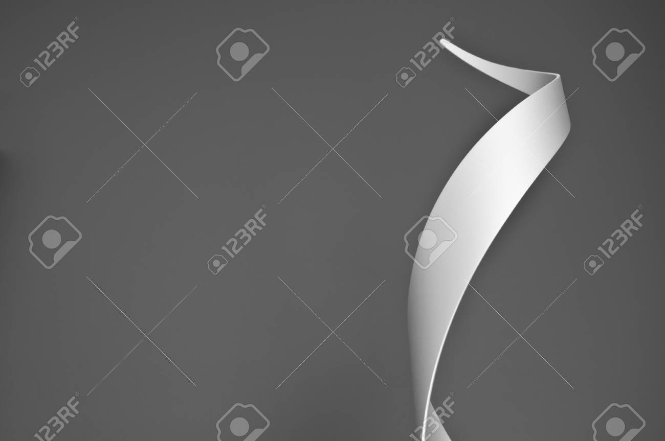 Steel cylinder cut and formed into an abstract sculpture Stock Photo - 12784635