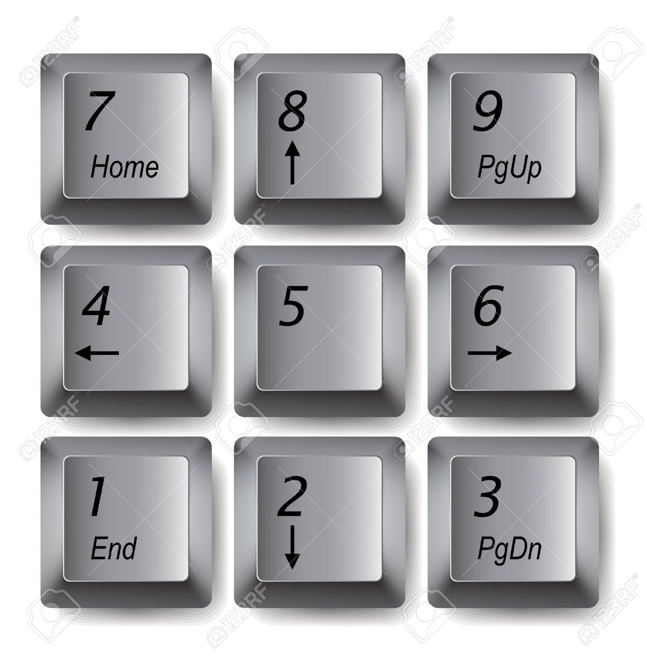 Vector keypad Stock Vector - 11226569
