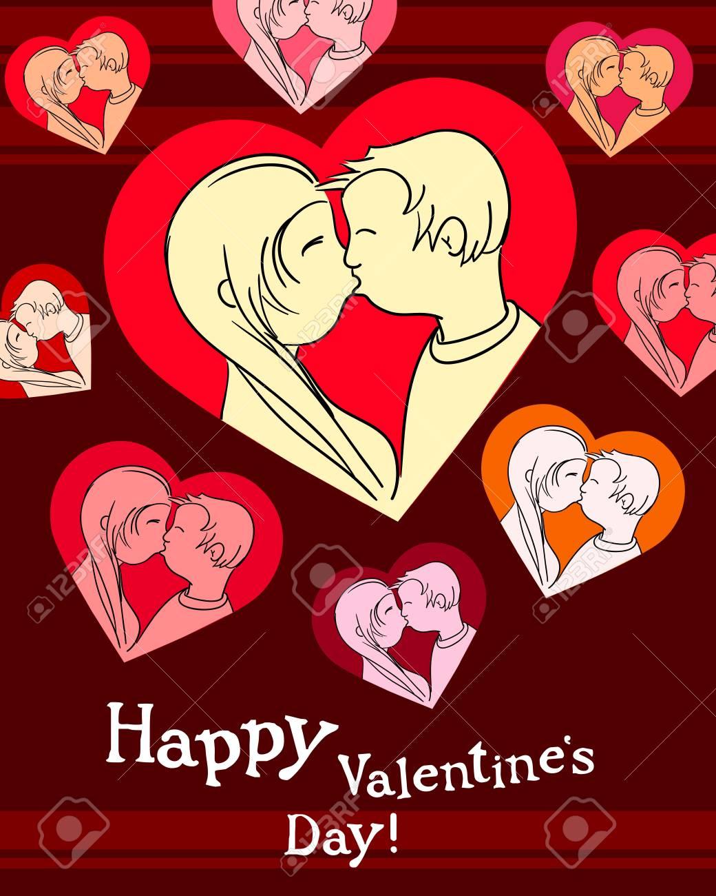 Happy valentine Stock Vector - 11258941