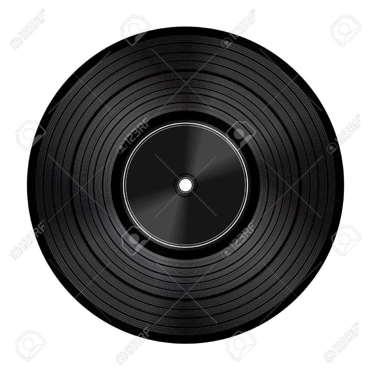 Vinyl audio disc Stock Vector - 11319538